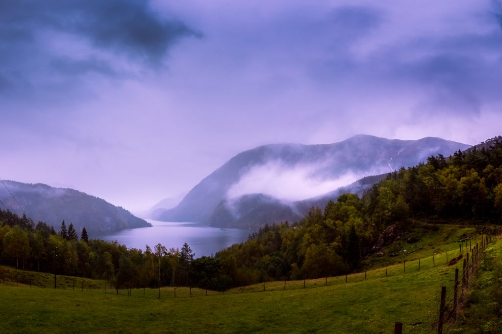 Clouds in Hordaland