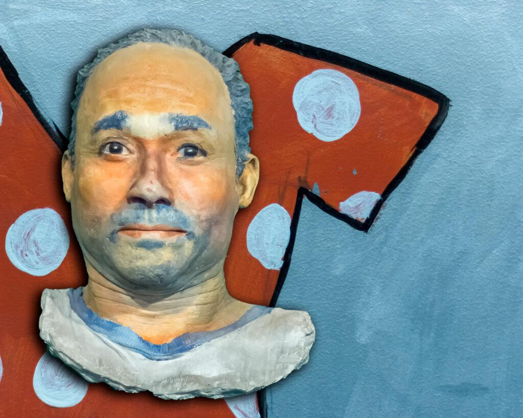 Greek Head on Basquiat